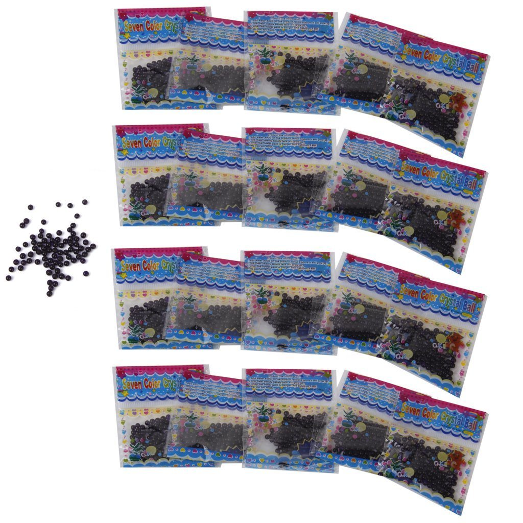 KINGSTONS Purple Magic Water Beads Marbles Crystal Soil Mud for Flower Planting