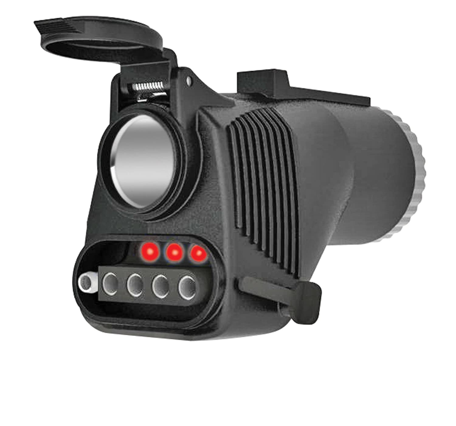 Amazon.com: Reese Towpower 78119 Adapter with Built-in 12V Power ...
