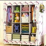 Portable Wardrobe Clothes Storage Organizer for Clothing