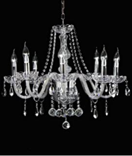 Ex john lewis estella 5 arm chandelier ceiling light amazon dst clear marie therese 8 arms transparent geniune crystal glass chandelier light chrome finish crystal chandelier aloadofball Image collections