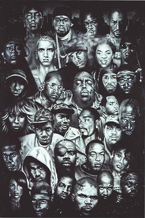 Hip Hop Poster 61 Cm X 91 5 Cm Surprise Gift Poster Amazon De Küche Haushalt