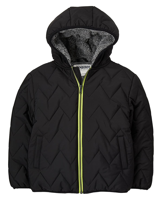 Gymboree Boys Black Puffer Jacket