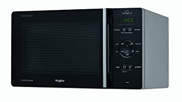 Whirlpool chefplus MCP 346 SL Horno Microondas con grill Capacidad 25 L negro, plata