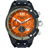 Mulco Evol Lock Quartz Swiss Chronograph Movement Men's Watch | Premium Analog Steel Accents | Silicone Watch Band | Water Resistant Stainless Steel Watch