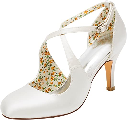 Scarpe Sposa Vintage.Emily Bridal Scarpe Da Sposa Scarpe Da Sposa Vintage Decollete Con