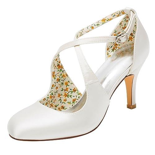 Scarpe Decollete Sposa.Emily Bridal Scarpe Da Sposa Scarpe Da Sposa Vintage Decollete Con