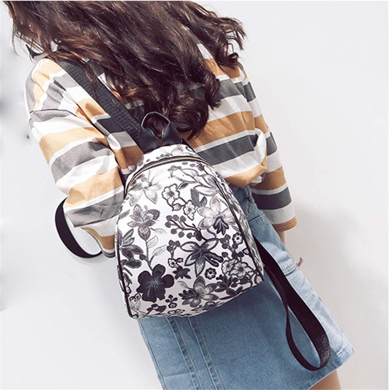 Mrxcff Luxury 3 Colors Vintage Embroidery Ethnic Canvas Backpack Women Flower Travel Girl School Backbag