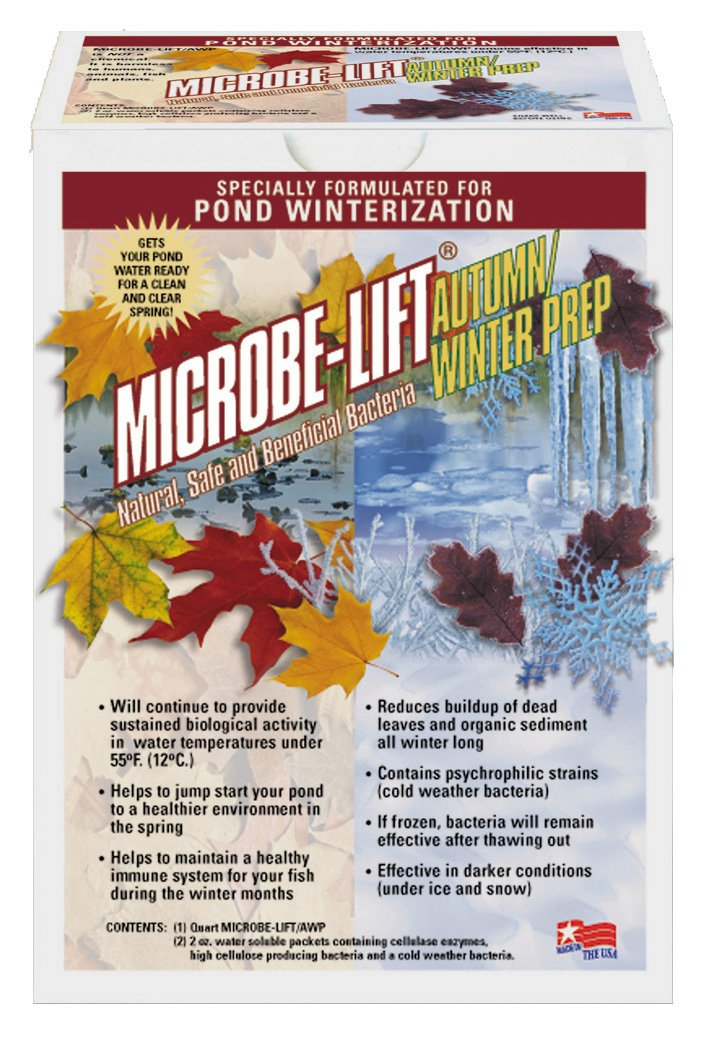 Microbe Lift 1-Quart Pond Microbe-Lift Autumn Winter Prep AUTPREP by Microbe Lift