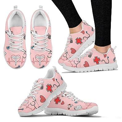 91636a35091aa La Nouvelle Chaussure Infirmiere Originale : Sneakers Infirmière modèle  Pinky (Basket Infirmiere) (38