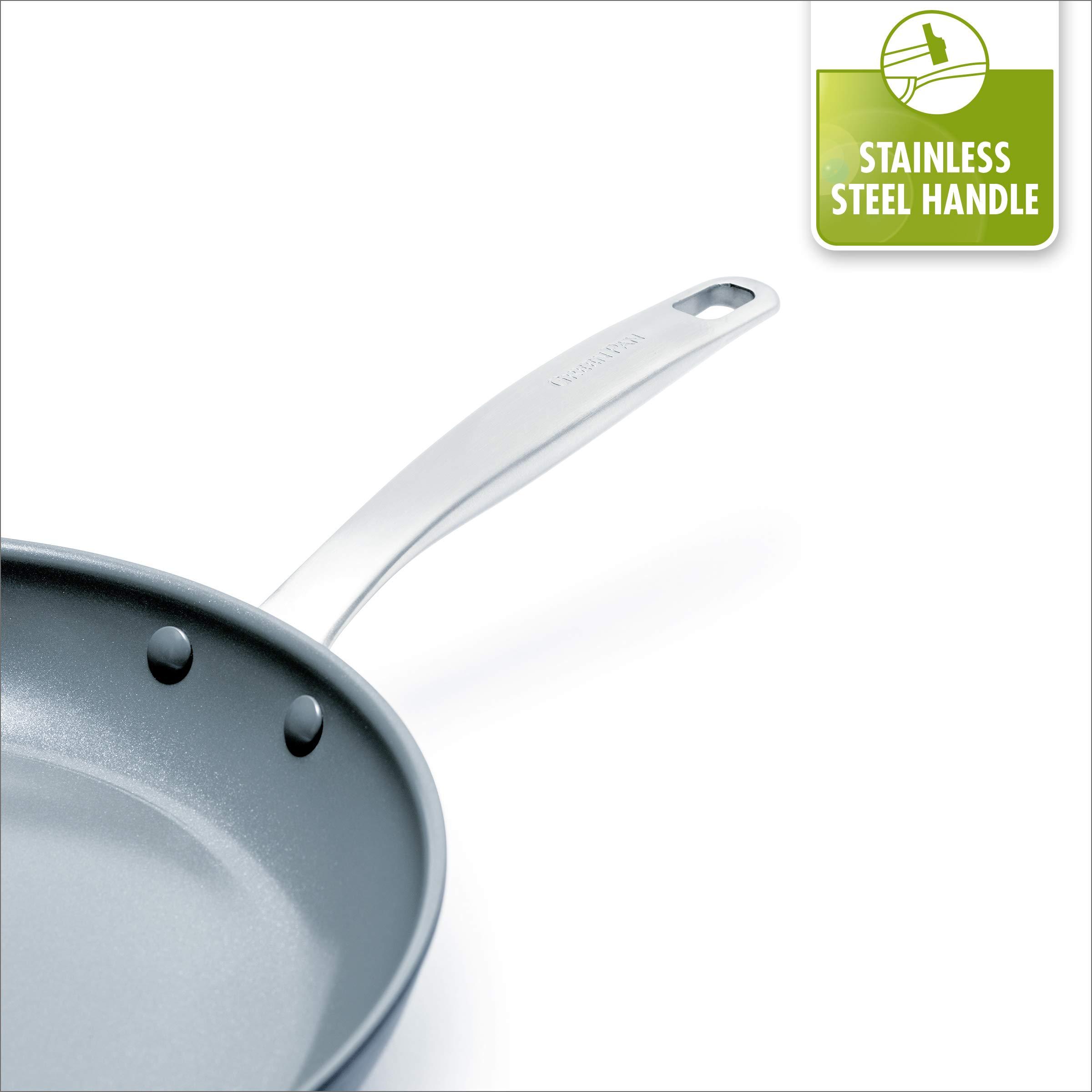 GreenPan Chatham Ceramic Non-Stick Open Frypan Set, 8'' and 10'' by GreenPan (Image #8)
