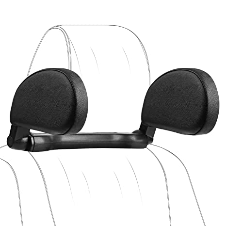 Car Neck Pillows Support Cushion for Driving//Travel//Home//Office Chair Car Seat Headrest Pillows Nylon Fabrics with Adjustable Slider Bar