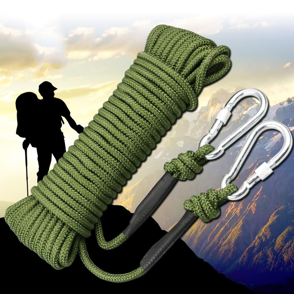 HCC & Klettern Seil Outdoor Fire Escape Innen Seil, Heavy Duty Seil, Durchmesser 8 mm Lebensrettend Equipment Supplies