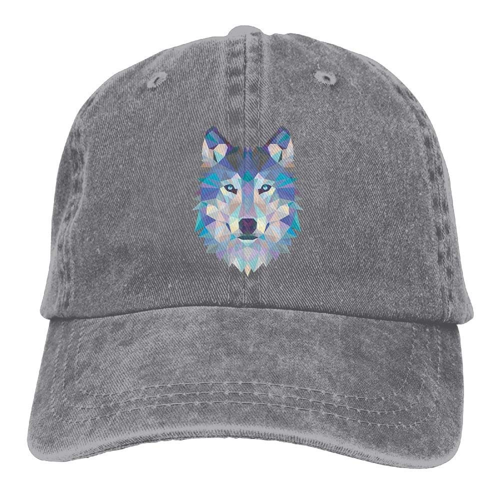 Men Women Wild Wolf Jeanet Cappellini Adjustable Trucker cap Hoswee Cappellino da Baseball//Berretto da Baseball