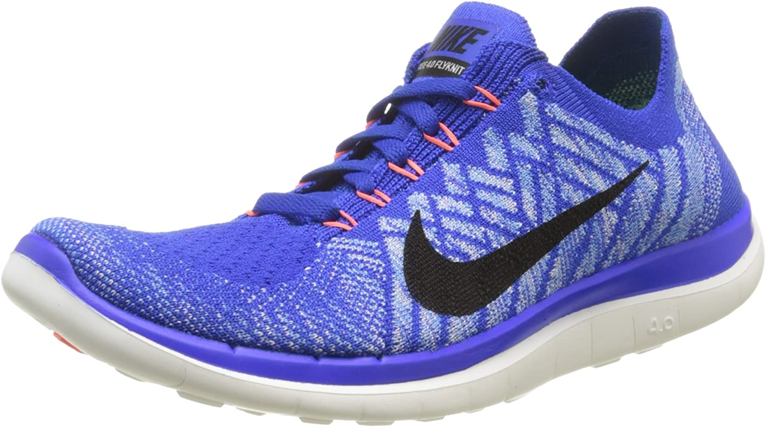 Álbum de graduación Con otras bandas Máquina de escribir  Nike Free 4.0 Flyknit, Women's Training Running Shoes, Blue (Racer  Blue/Black-University Blue-Hyper Orange), 3 UK: Amazon.co.uk: Shoes & Bags