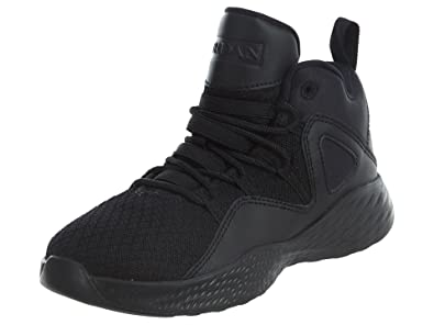 JORDAN KIDS JORDAN FORMULA 23 BP SHOES BLACK BLACK WHITE SIZE 1