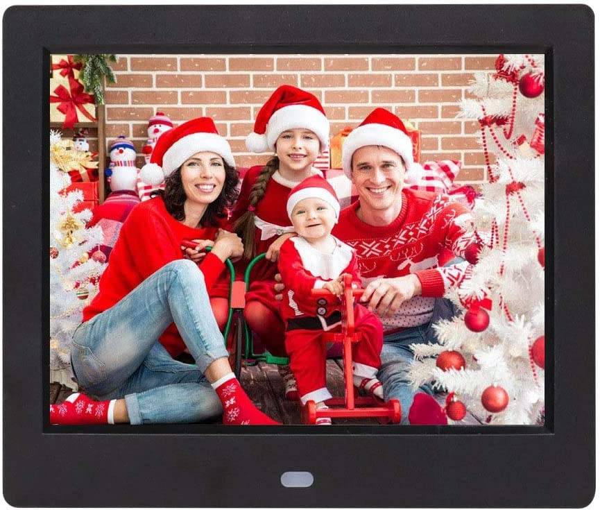 Limaomao Digital Photo Frame 8 Inch Digital Picture Frame 1024768 Pixels High Resolution Smart Electronic Frame with Motion Sensor Auto On//Off Timer Remote Control Included for Pictures and Videos