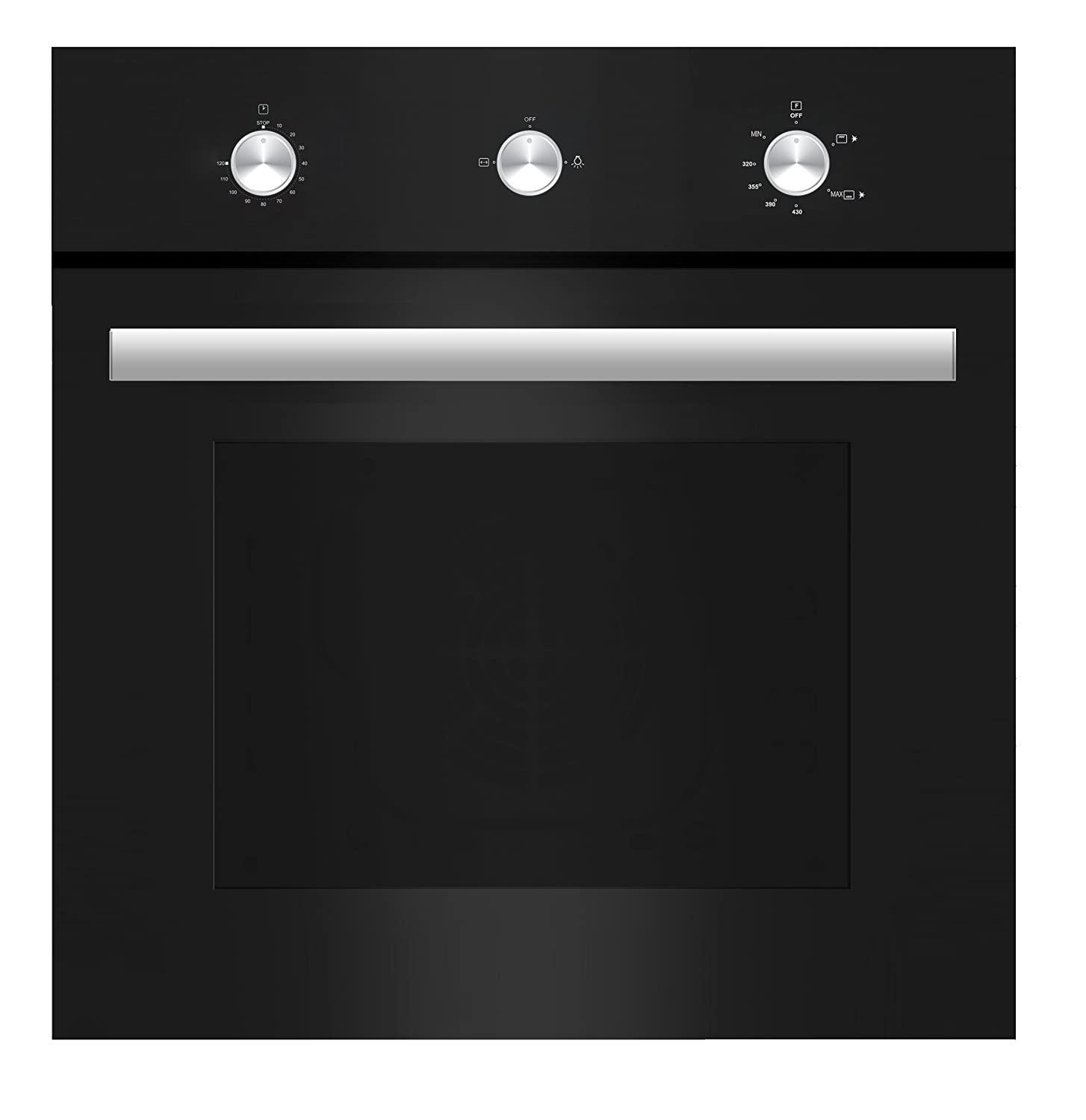 Amazon Empava 24 Tempered Glass Built In Single Gas Wall Oven