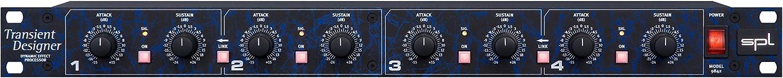 SPL 4チャンネル ダイナミクスプロセッサー Model 9842 Transient Designer 4