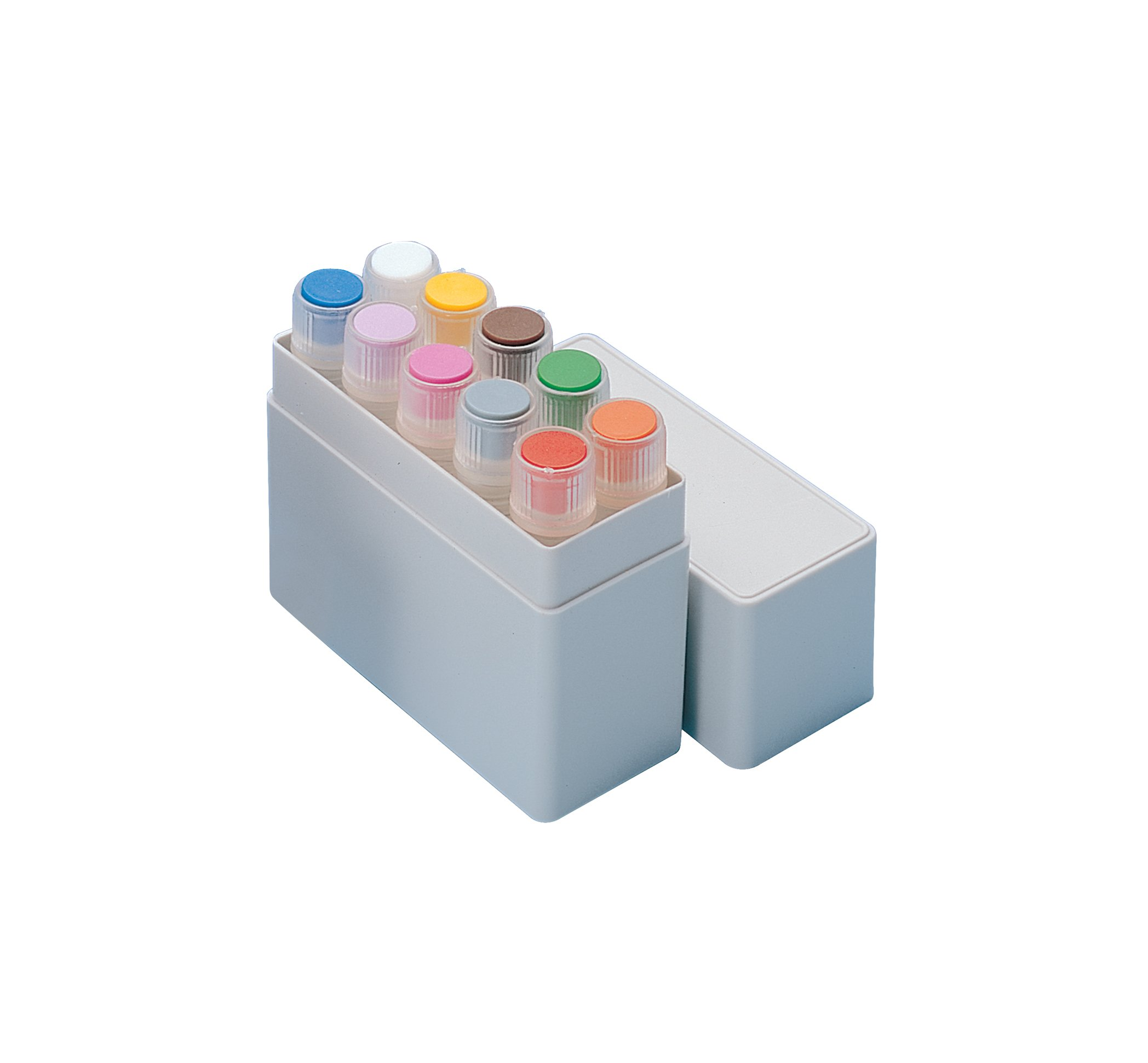 Nunc HIPS MiniBoxes for CryoTubes, Can hold 10 vial, 1.0ml - 1.8ml Capacity (Case of 200)