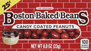 Boston Baked Beans Candy Coated Peanuts, 0.8 Ounces (Pack of 24)