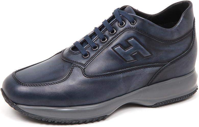 Hogan E4238 Sneaker Uomo blu Interactive Scarpe H Rilievo Shoe Man ...