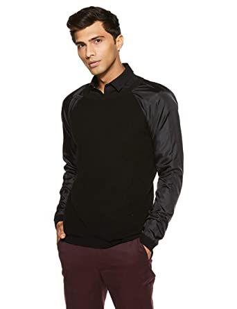 Jack   Jones Men s Casual Pull Over  Amazon.in  Clothing   Accessories d5a93b5025