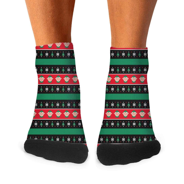 Migny Hills Mens All-season Sports Socks Christmas Holly Plants Athletic Socks For Men