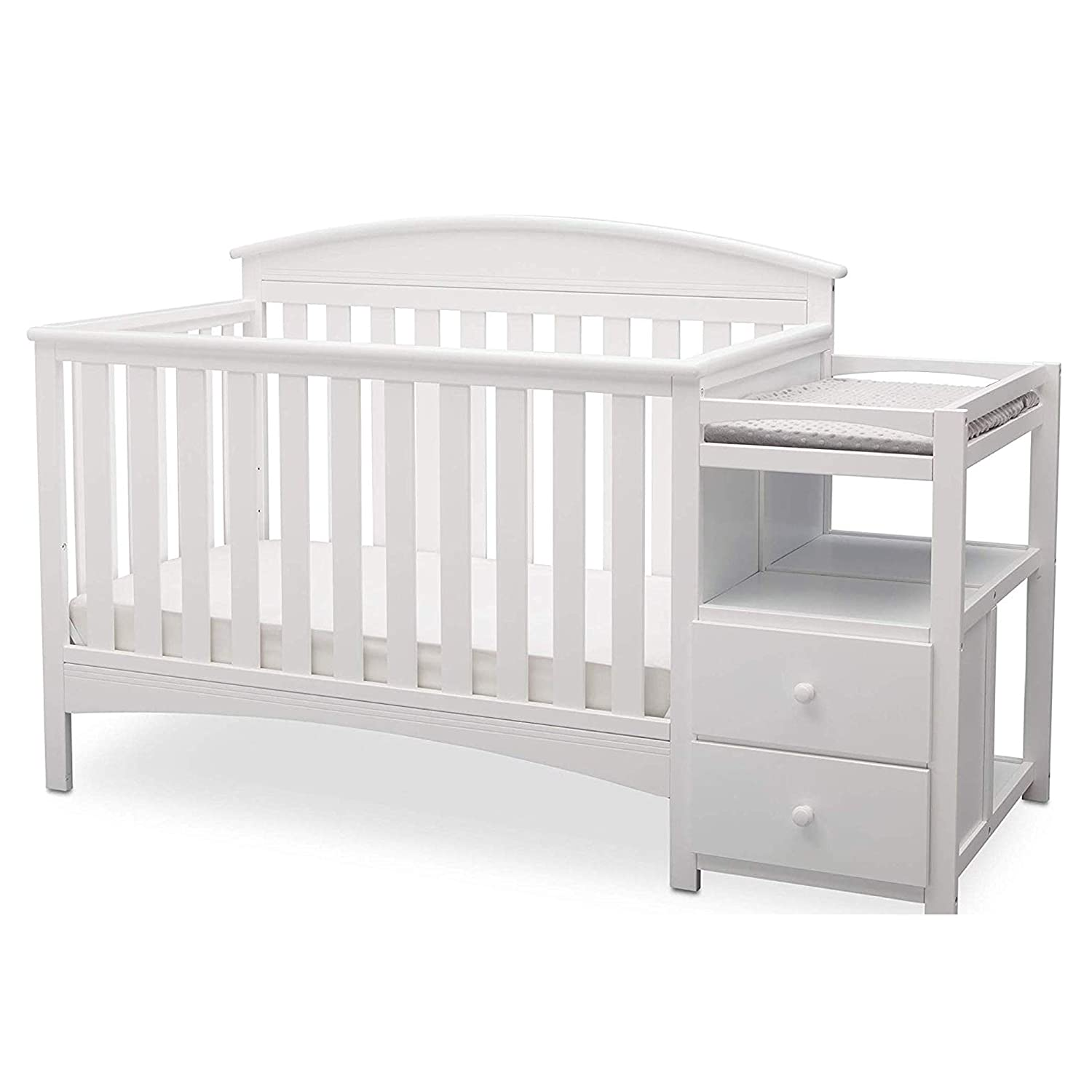 Delta Children Abby Convertible Cribs With Changing Table