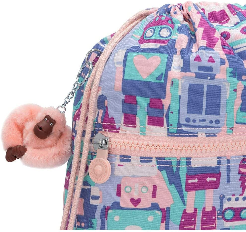 Robot Camo Pink Kipling SUPERTABOO Mochila Escolar Multicolor