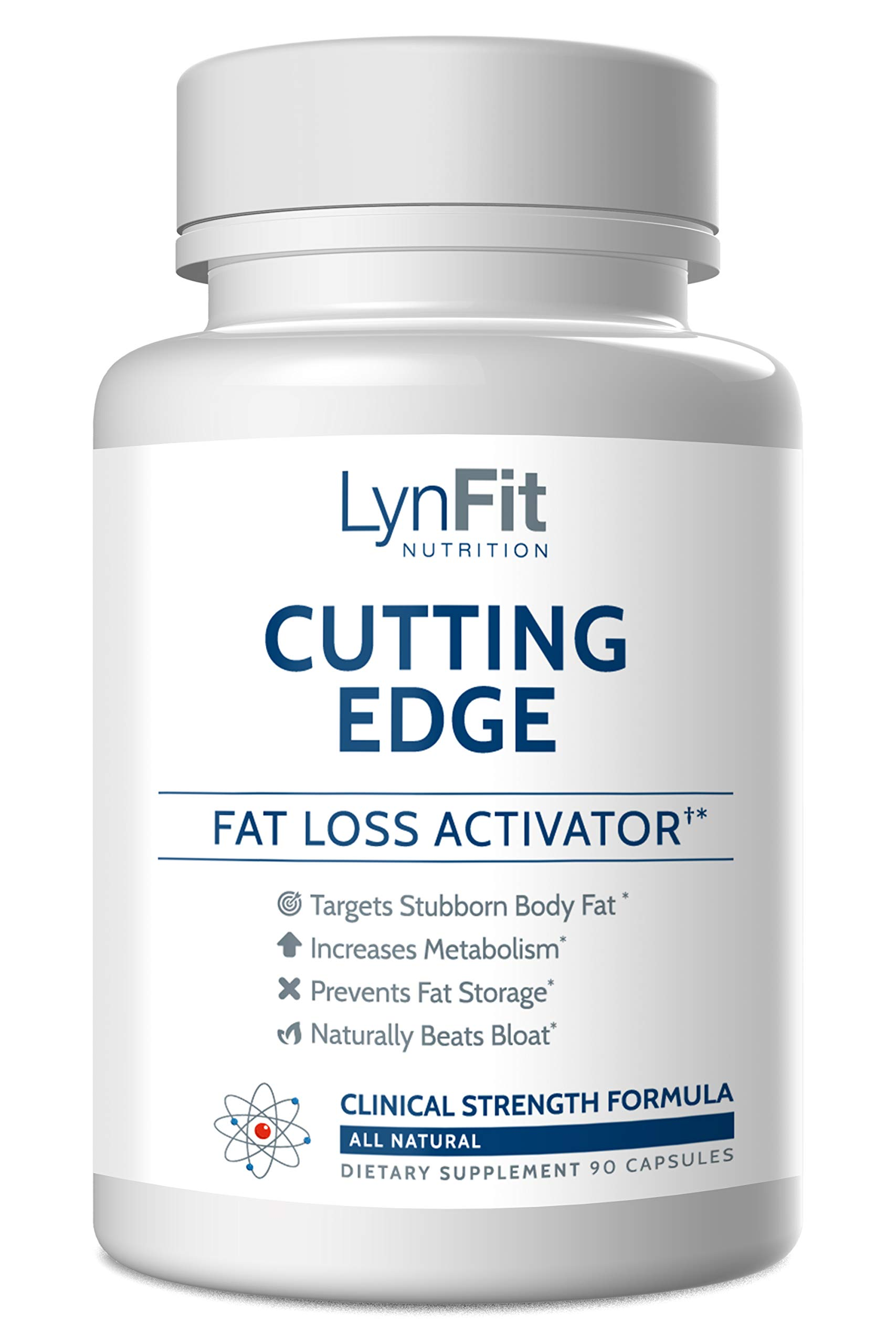 Cutting Edge with L-Carnitine for Faster Fat Burning - 90 Capsules by LynFit Nutrition