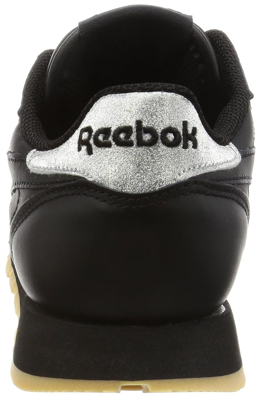 Reebok Classic Leather Met Diamond, Sneakers Basses Femme