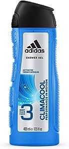 Adidas Climacool 3in1 Shower Gel Shampoo 400 ml/ 13.5 fl oz, Blue