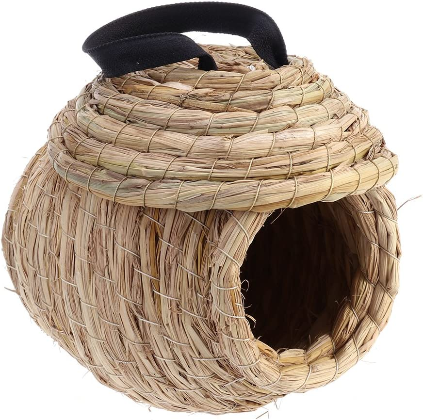 UEETEK Casa para Pájaros Nido de Pájaros Hamaca para Aves Loro Hámster Chinchilla Cama para Animales Pequeños