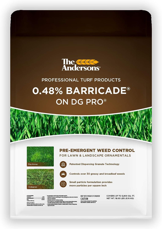 Andersons Barricade Professional-Grade Granular Pre-Emergent Weed Control