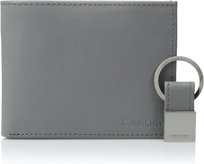 Amazon.com: Calvin Klein RFID - Cartera de piel para hombre ...