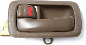 Front Rear Left Side Oak Driver Inner Door Handle for 1992-1996 TOYOTA CAMRY