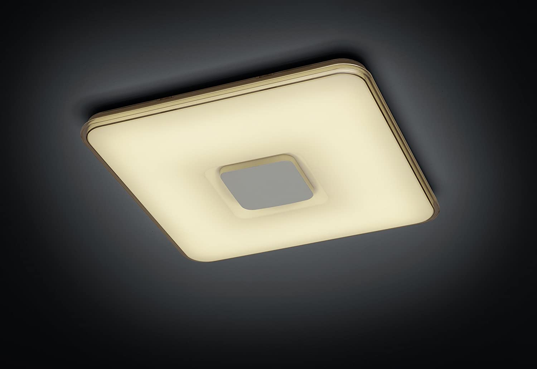 Integriert 30 wattsW acrylique Plafonnier R/ésine acrylique Trio Leuchten 678711206/Osaka A + chrom