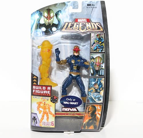 Marvel Legends Figura de acción Exclusiva de Nemesis Build-A ...