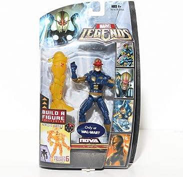 Marvel Legends Figura de acción Exclusiva de Nemesis Build-A-Figure Wave Nova: Amazon.es: Juguetes y juegos