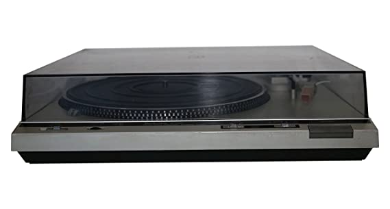 Technics SL-D 30 Plattenspieler in silber