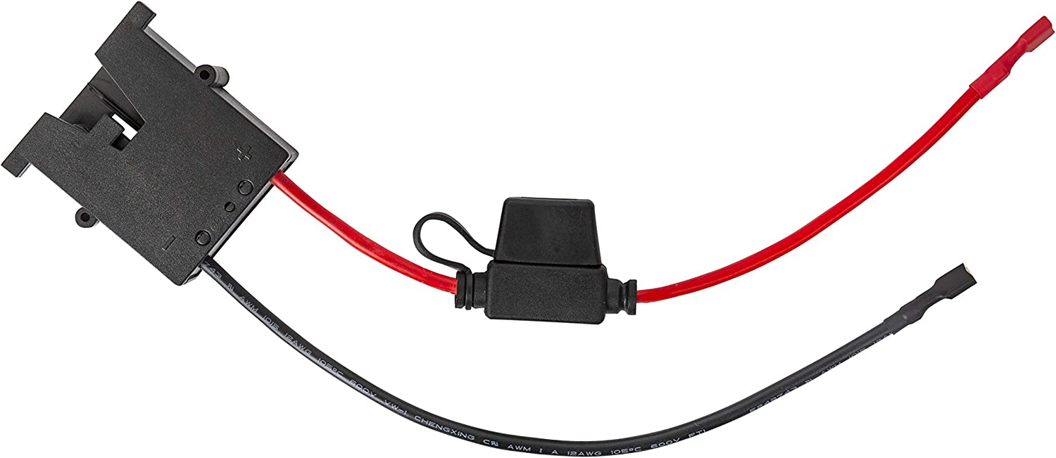 power wheels wiring harness amazon com kassupply 12v battery wire harness connector for  12v battery wire harness connector