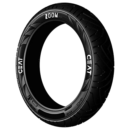 Ceat Zoom 120/80-17 61P Tubeless Bike Tyre, Rear (Home Delivery)