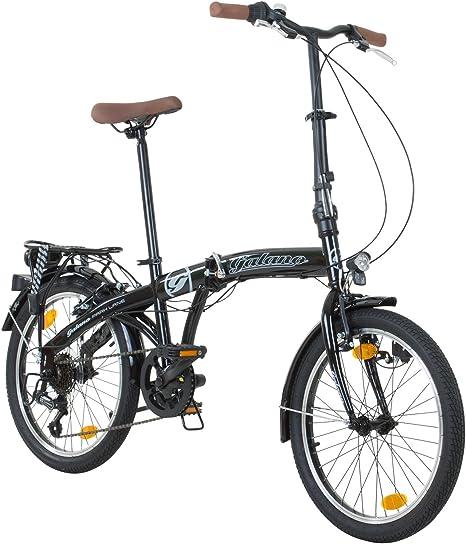 Galano - Bicicleta plegable de 20 pulgadas, edición especial ...