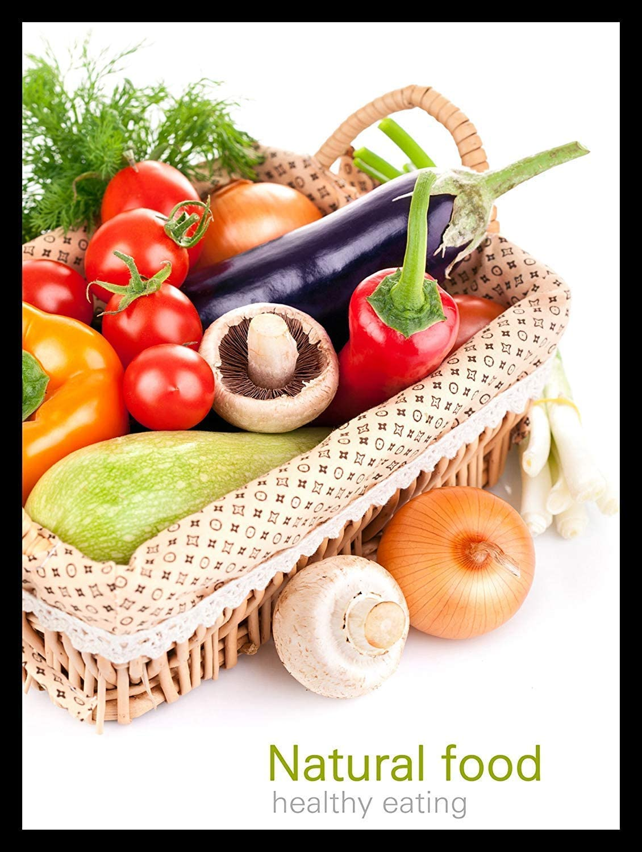 NOT Natural Food Healthy Eating Placa de Cartel de Chapa Vintage ...