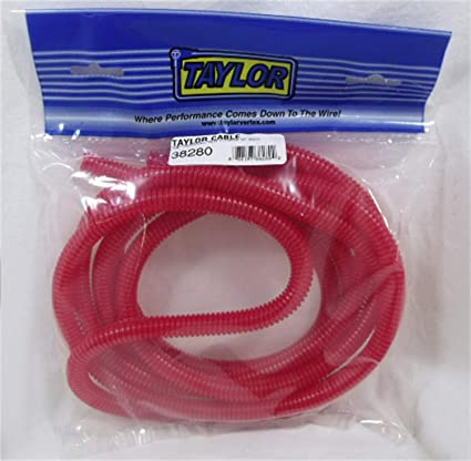 """Taylor Wire Conduit 38210; Convoluted Tubing Red 3//8/"""" 50/'"""