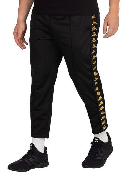 faf4db002b Kappa Men's Adern Cropped Joggers, Black, X-Large: Amazon.ca ...
