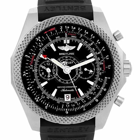 Breitling Bentley automatic-self-wind Mens Reloj e27365 (Certificado) de segunda mano: Breitling: Amazon.es: Relojes