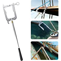 WindRider Telescoping Boat Hook Multi-Purpose Dock Hook Easy Longue Distance Threader for Your Home and Outdoor MOONOO The TEEPOR-Easy Enfileur Longue Distance The Boat Hook