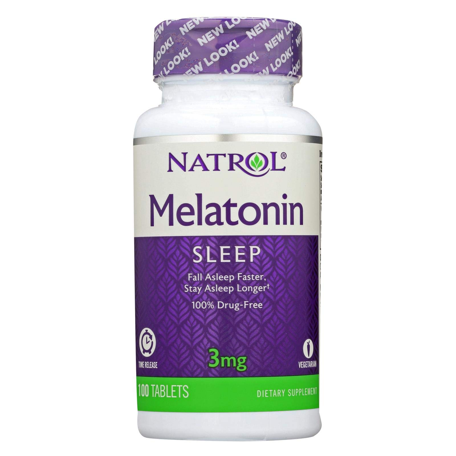 Amazon.com: Natrol Melatonin Time Release - 3 mg - 100 Tablets: Health & Personal Care