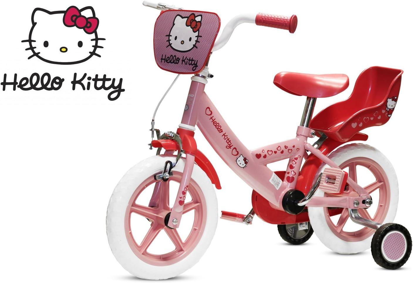 12 Hello Kitty Neumáticos de Goma con bicicleta infantil (Rueda ...